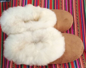 The best peruvian  Alpaca Pink Slippers all sizes