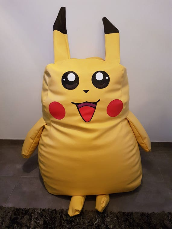 Strange Large Pokemon Pikachu Bean Bag Chair Handcrafted Waterproof Chair Pdpeps Interior Chair Design Pdpepsorg