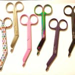 Left handed bandage scissor for nurse or vet tech veterinary technician gift in 6 options by Vettechstuff