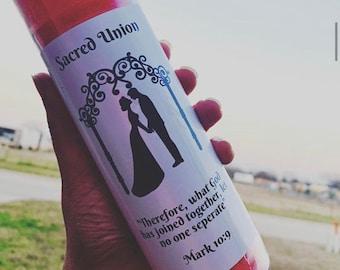 Sacred Union Dressed Candle