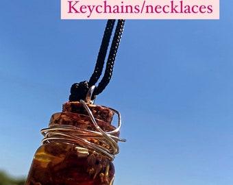 Love Potion Keychain/Necklace