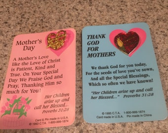 Mother's Day Pins