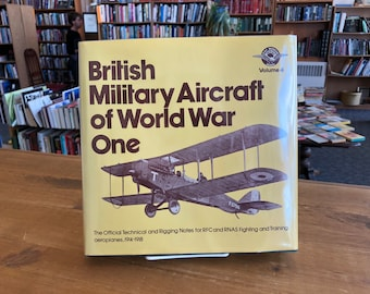 British Military Aircraft of World War One, 1976