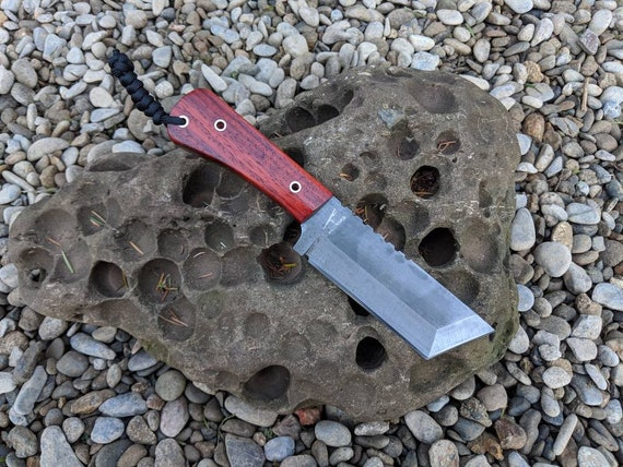 Camp Chopper Tanto Knife  /survival knife bushcraft knife tactical knife fixed blade