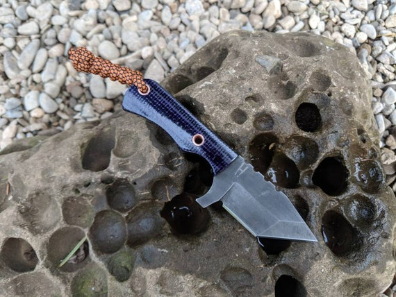 Small handmade EDC Tanto Knife