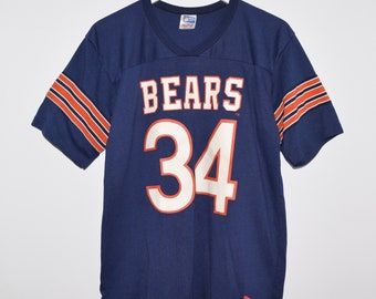 new concept 92ca4 e8a38 NEW Vintage Rawlings Chicago Bears Walter Payton 34 Football Jersey Large