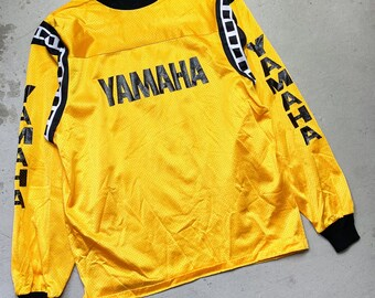Vintage RS Taichi Tshirt Jersey Motocross Clothing Full Print Large Size On Tag