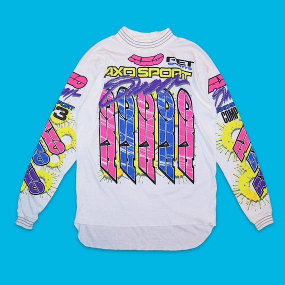 NOS Unworn Vintage 1991 AXO Sport Motocross Jersey