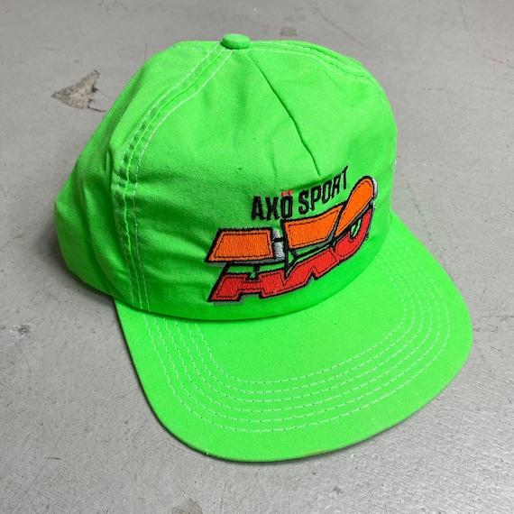 NOS Vintage 1990 AXO Sport Snapback Hat