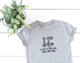 Toddler T-Shirt Delco AF Jawn Definition It/'s a Delco Thing