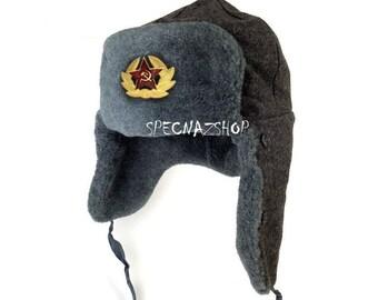 7db3b53d2 Soviet hat | Etsy