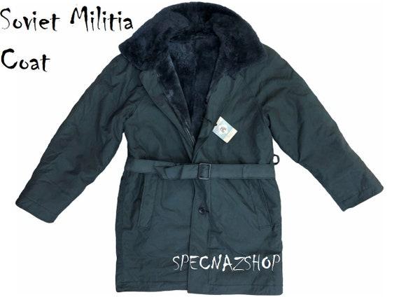SUPER RARE Original Russian FSO FEDERAL PROTECTIVE SERVICES SHEEPFUR Jacket Coat