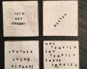 The Sloppy Drunk Coaster Collection