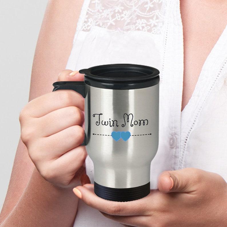Personalized TWIN MOM MUG Twin Mom Travel Mug For Of