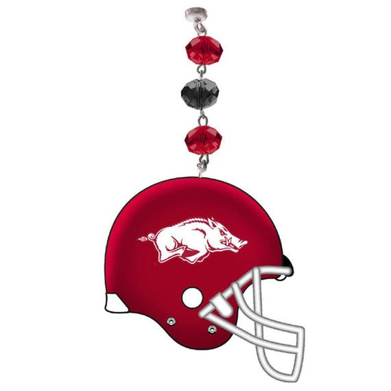 Set Of 3 University Of Arkansas Football Helmet Magnetic Etsy