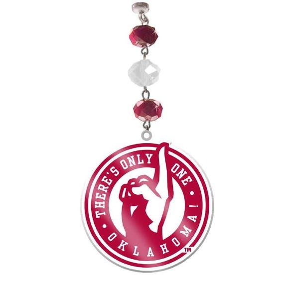 Set Of 3 University Of Oklahoma Sooners Logo Magnetic Ornament Ou Decor Sooners Ornament Sooners Football Ou Sooners Boomer Sooners