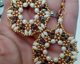 Earrings Cream