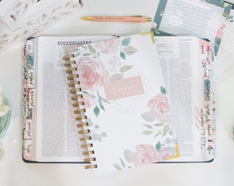 Sermon Notes Journal for Church | Church notes | Sermon Notebook | Religious Gifts for Mother's Day | Gifts for Christian Women