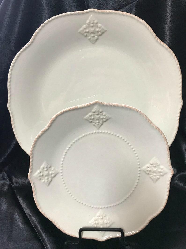 French Perle Charm by Lenox Salad Plate 2013-2017 Dinner Plate Mug