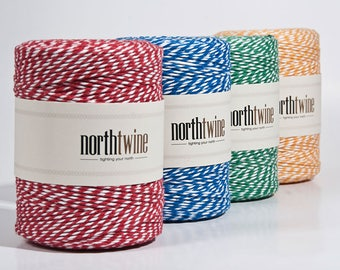Baker Twine - 12-ply, with 29 color combinations!