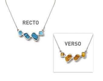 Cumulus reversible necklace