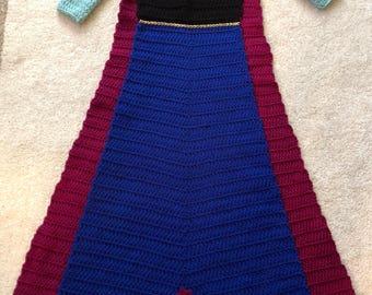 Princess Anna wearable blanket