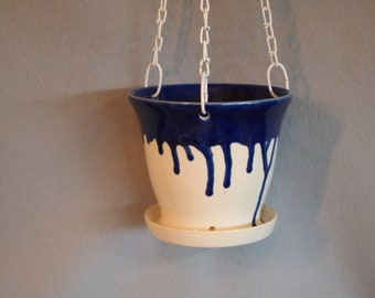 Hanging Planter Indoor Planter Ceramic Pottery Planter Plant Holder