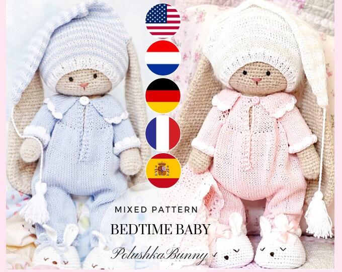 Crochet amigurumi kit toy kit cotton yarn set knitting kit | Etsy | 540x680