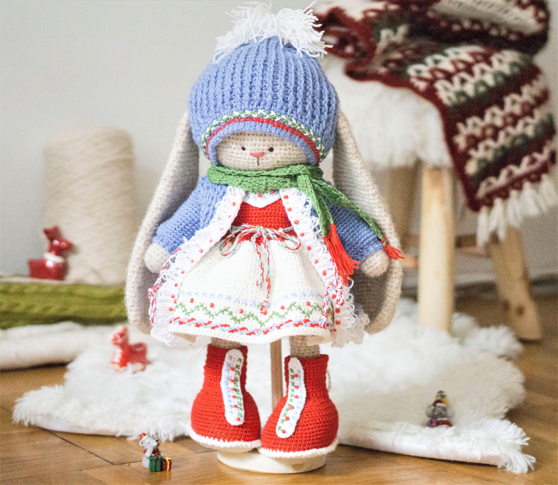 Crochet Amigurumi Bunny Toy Free Patterns Instructions   2608x3000
