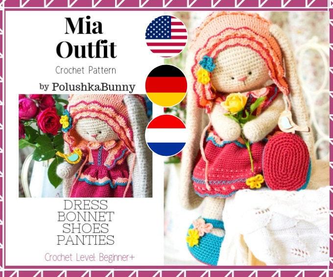 Cat Princess Amigurumi Pattern, Realistic Cat Crochet Pattern ... | 567x680