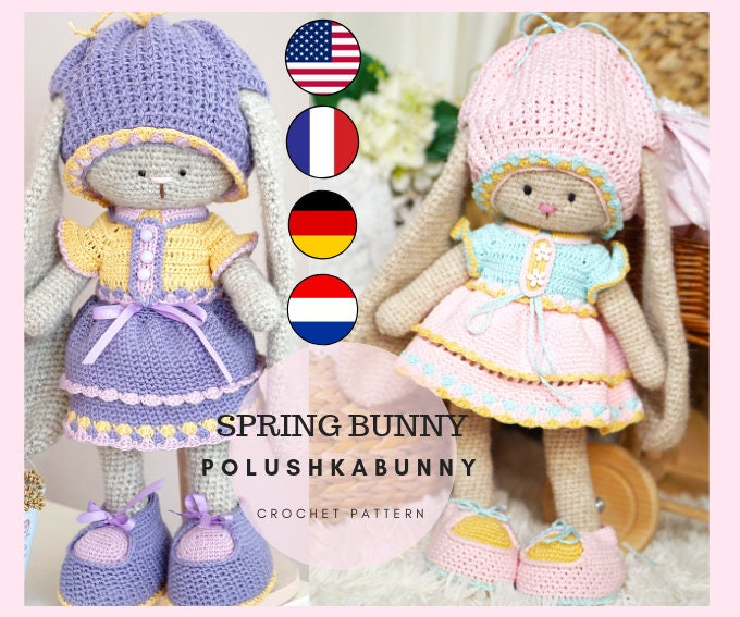 Pattern: Spring Bunnies - All About Ami | 567x680