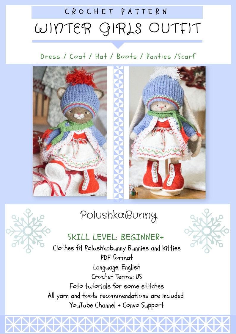 Crochet Amigurumi Rabbit Design Winter Bunny Free Amigurumi ... | 1123x794
