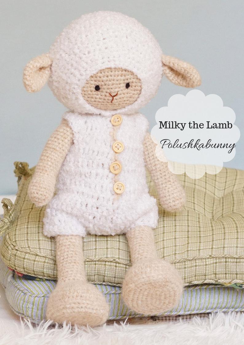Little Crochet Lamb | Modèles au crochet de pâques, Modèles de ... | 1123x794