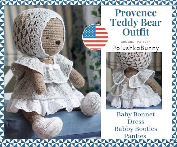 Teddy bear crochet dress (With images)   Crochet bear, Crochet ...   475x570