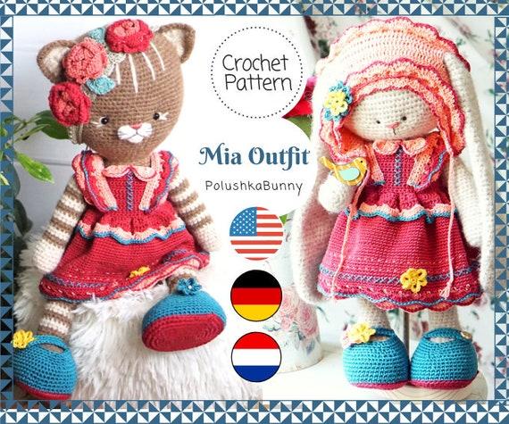 Ravelry: Lying Kitten pattern by Amigurumi Today | 475x570
