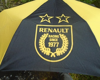 Umbrella vintage RENAULT Racing Since 1977 - Renault - F1 - Formula 1 team - 70s
