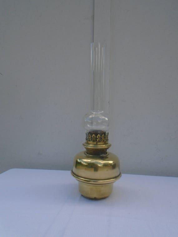 Lampe A Petrole En Cuivre Lampe Universelle Brevete Jr Etsy