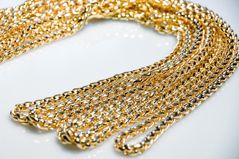Jewelry making supplies gold chain