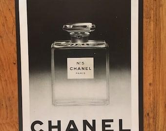 Chanel Ad Etsy