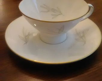 Rosenthal footed cup and saucer