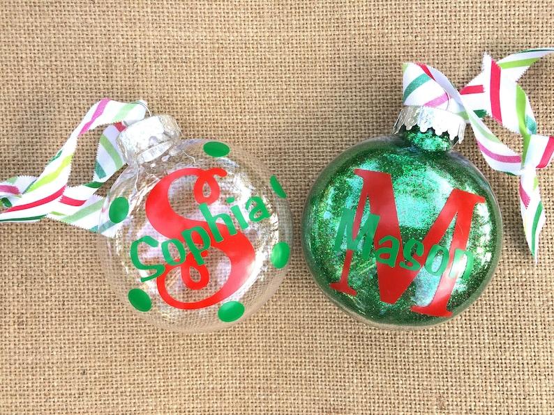 Personalized Christmas Ornaments Christmas Decor Christmas Ornaments Family Names Name Ornament Custom Holiday Ornaments