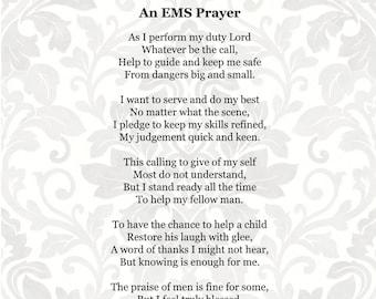 7ba517da15 EMS Prayer (SVG, PDF, png Digital File Vector Graphic)