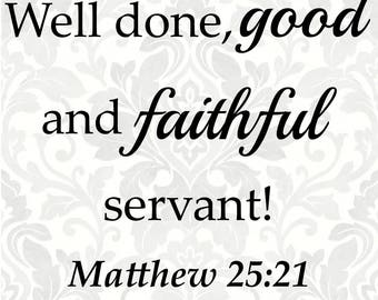 faithful svg etsy