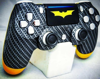 Custom PS4 Controller/Gamepad-Dark Knight (Batman) Special Edition - Comic Superhero Theme