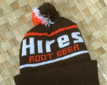 Vintage Hires Root Beer Knit Cap