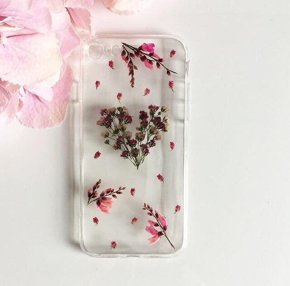 LG Case Huawei Case Subtle Trinket Phone Case Sony Xperia Case Handmade Phone Case Samsung Case iPhone Case Pressed Flower Phone Case