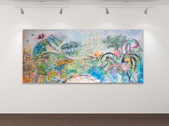 Lasst mich träumen - Kunstdruck Gemälde von Stephanie Oncken