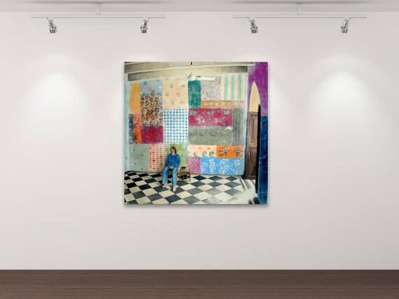 Ich und meine Muster - Gemälde - Stephanie Oncken