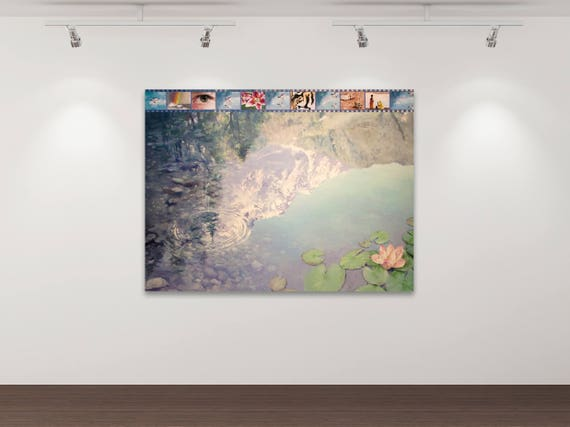 Keine Zeit für Sentimentalitäten - Kunstdruck Gemälde von Stephanie Oncken