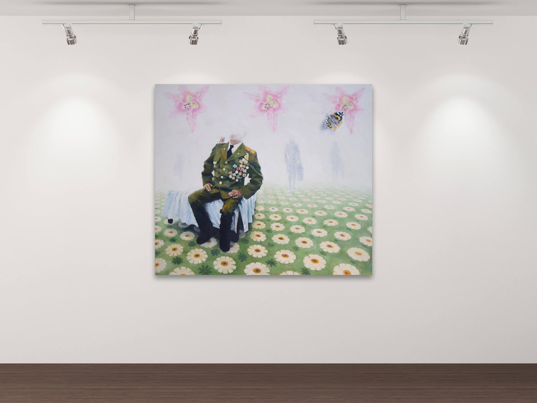 Das große Vergessen - Kunstdruck Gemälde von Stephanie Oncken